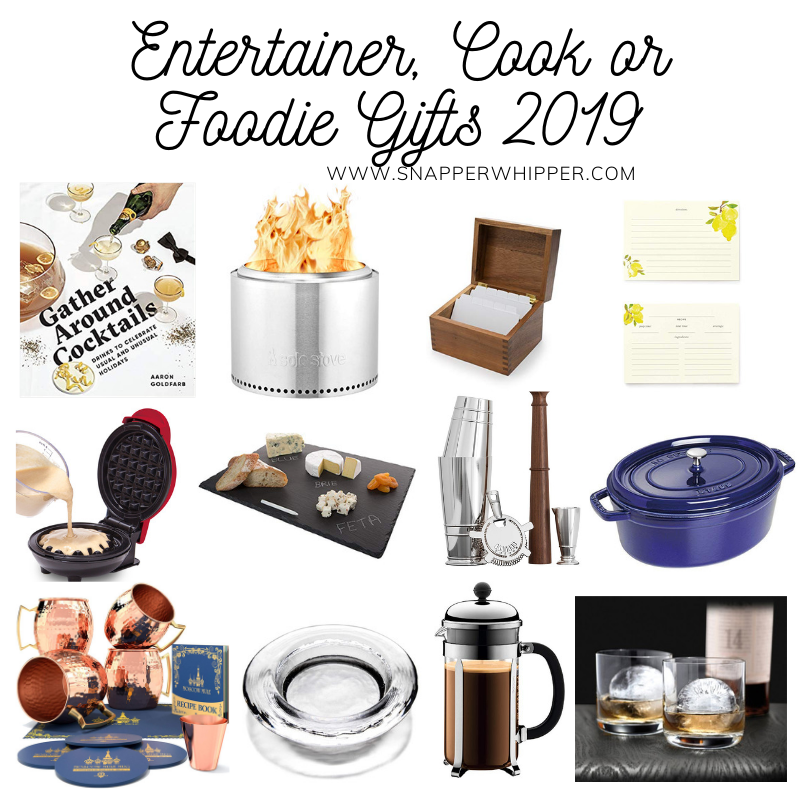 Entertainer, Foodie or Cook Gifts 2019