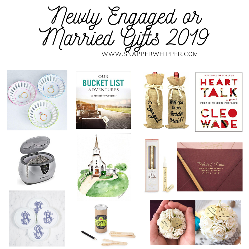 Newly Engaged or Married Gifts 2019